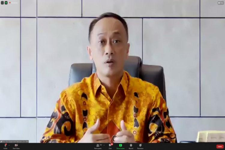 Dirjen Dukcapil Kementerian Dalam Negeri Zudan Arif Fakrulloh